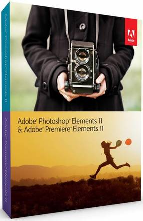 Adobe PhotoShop Elements 11 +  Premiere 11