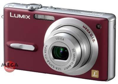 Panasonic DMC-FX9 červený