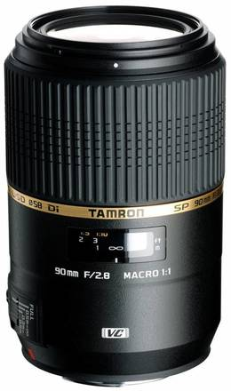 Tamron SP 90mm f/2,8 Di Macro USD pro Sony