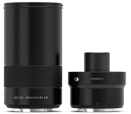 Hasselblad XCD 135mm f/2,8 + telekonvertor 1,7x