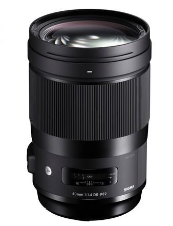Sigma 40mm f/1,4 DG HSM Art pro Sony FE