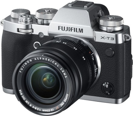 Fujifilm X-T3 + 18-55 mm stříbrný - Video kit