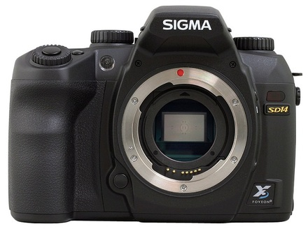 Sigma SD-14 tělo