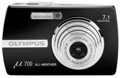 Olympus Mju 700 černý