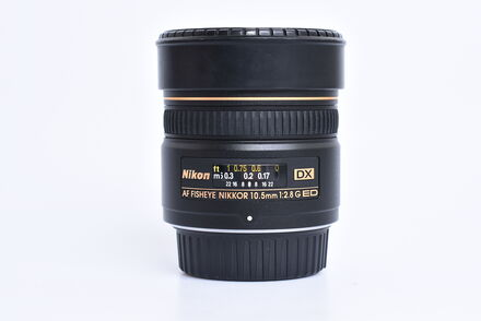 Nikon 10,5mm f/2,8 G AF DX RYBÍ OKO IF-ED s CL-0715 / LF-1 bazar