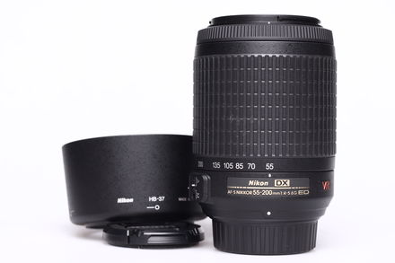 Nikon 55-200mm f/4,0-5,6G AF-S IF-ED DX VR bazar