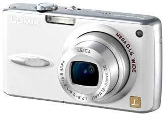 Panasonic DMC-FX01 bílý