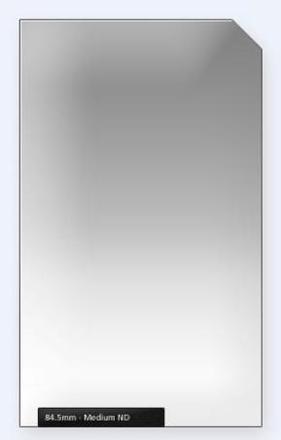 84.5mm Professional 150mm ND filtr střední s jemným přechodem