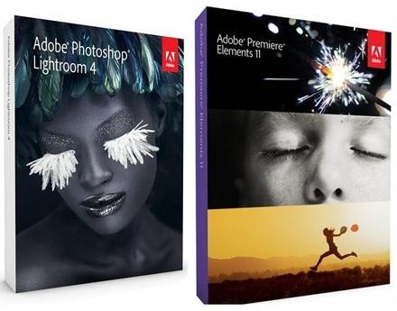 Adobe Photoshop Lightroom 4 + Premiere 11