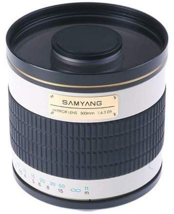 Samyang 500mm f/6,3 MC IF Mirror Sony NEX