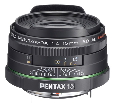 Pentax DA 15mm f/4,0 AL Limited