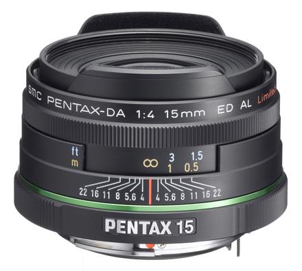 Pentax DA 15mm f/4,0 AL Limited