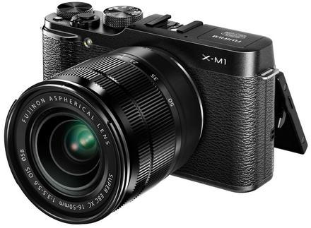 Fujifilm X-M1 tělo černý  + 35mm