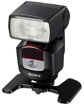 Sony blesk HVL-F43M + portrétní set + nabíječka s 4x AA 2400 mAh!