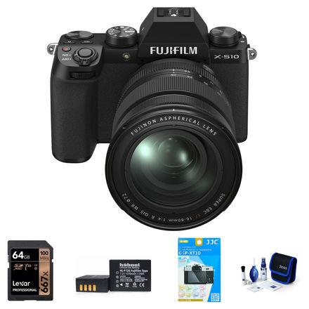 Fujifilm X-S10 + 16-80 mm černý - Foto kit