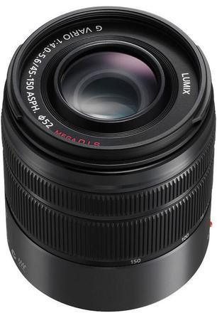 Panasonic LUMIX G VARIO 45-150mm f/4,0-5,6 ASPH černý