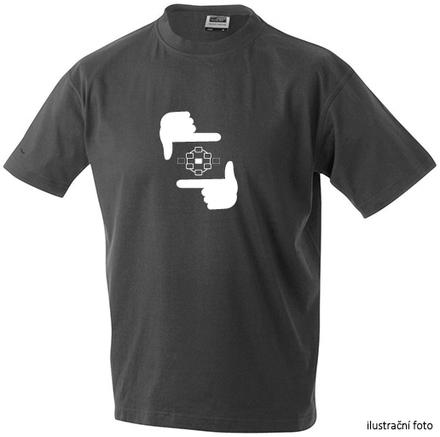 Megapixel tričko bílé ruce L
