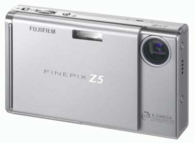 Fuji FinePix Z5fd stříbrný
