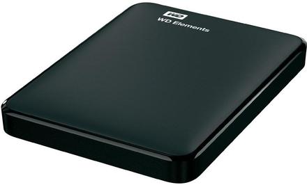 """Western Digital Elements Portable 500GB, 2.5"""" USB 3.0, černý"""