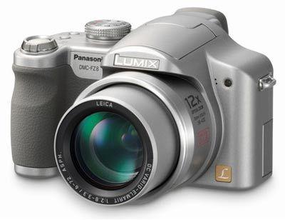 Panasonic DMC-FZ8 stříbrný