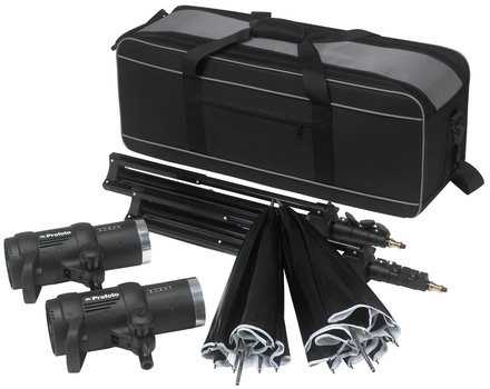 Profoto D1 studio kit 250/250 + synchronizační kabel
