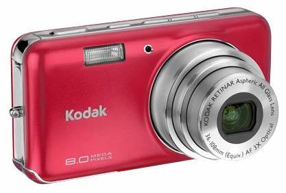 Kodak EasyShare V803 červený