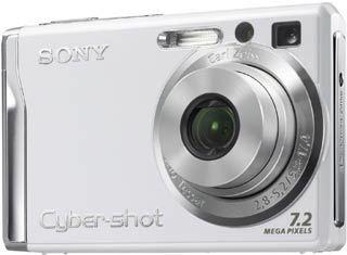 Sony DSC-W80 bílý + MS 1GB DUO karta!