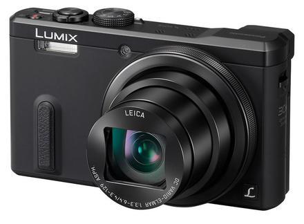 Panasonic Lumix DMC-TZ60 černý + 16GB Ultra + brašna Chicago 7 + čisticí utěrka!