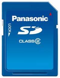 Panasonic SD 2 GB Class 2