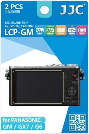 JJC ochranná folie LCD LCP-GM pro Panasonic Lumix DMC-GM1, DMC-GM5, DMC-GX7, DMC-G6