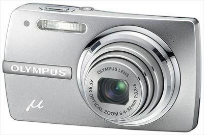 Olympus Mju 820 stříbrný
