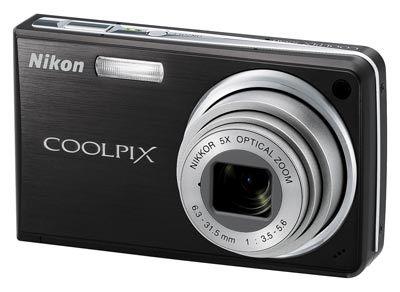 Nikon CoolPix S550 černý