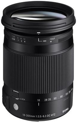 Sigma 18-300mm f/3,5-6,3 DC Macro OS HSM Contemporary pro Nikon