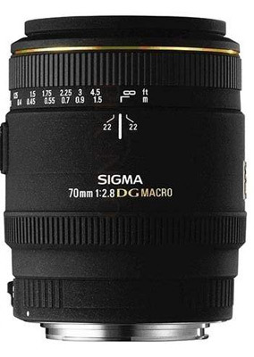 Sigma 70 mm F 2,8 EX DG MACRO pro Sigma + utěrka Sigma zdarma!