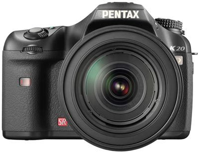 Pentax K20D + 16-50 mm