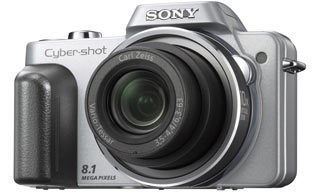 Sony DSC-H10 stříbrný