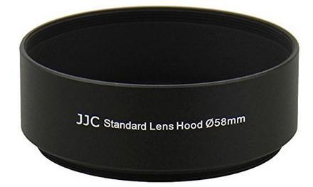 JJC sluneční clona univerzální LN-58S