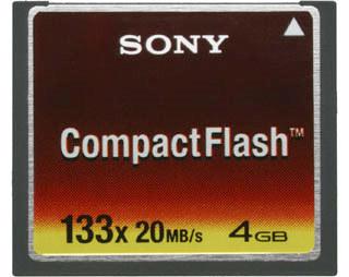 Sony CF 4 GB 133x