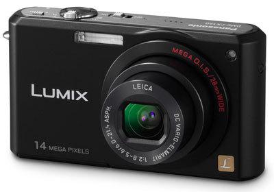 Panasonic Lumix DMC-FX150 černý