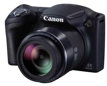 Canon PowerShot SX410 IS čeverný černý