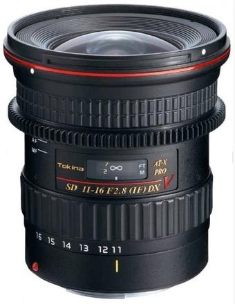 Tokina AT-X 11-16mm f/2,8 116 Pro DX V pro Nikon
