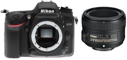 Nikon D7200 + 50 mm Set pro ČB fotografii