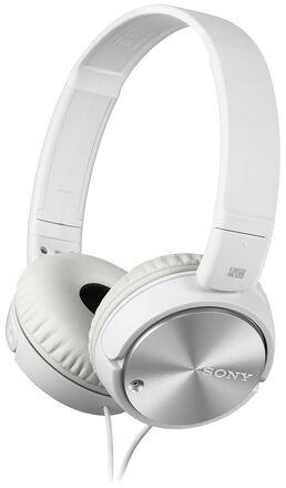 Sony sluchátka MDR-ZX110NA bílá