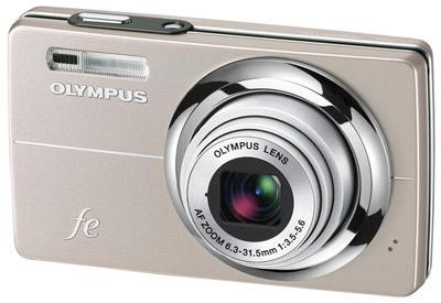 Olympus FE-5000 zlatý
