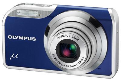Olympus Mju 5000 modrý