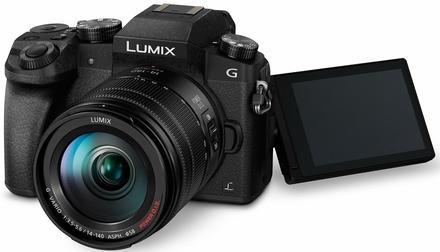 Panasonic Lumix DMC-G7 + 14-42 mm II + 45-150 mm černý