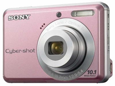 Sony CyberShot DSC-S930 růžový