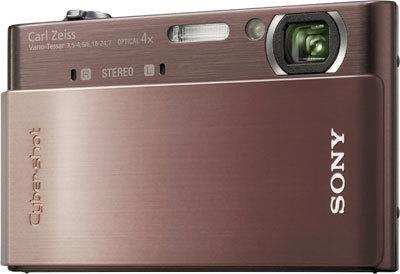 Sony CyberShot DSC-T900 hnědý