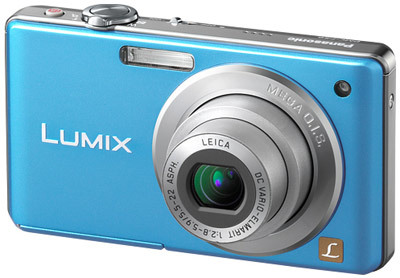 Panasonic Lumix DMC-FS6 modrý