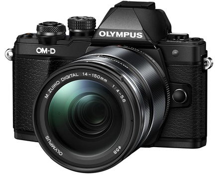 Olympus OM-D E-M10 Mark II + 14-150 mm II černý